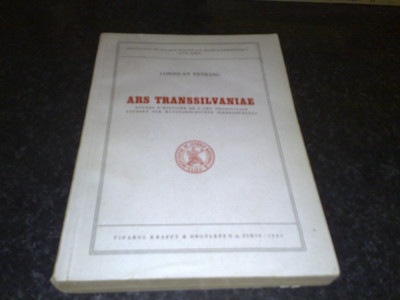 Coriolan Petranu - Ars Transsilvaniae - 1944 - in franceza foto