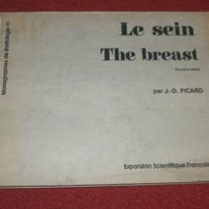 Radiologia toracelui - Le sein THE BREAST - J.-D. Picard - Carte Radiologie