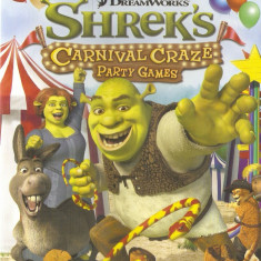 JOC PC DREAMWORKS SHREK's CARNIVAL CRAZE PARTY GAMES ORIGINAL SIGILAT / STOC REAL / by DARK WADDER - Jocuri PC Activision, Actiune, 3+, Single player