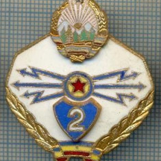 557 INSIGNA - MILITARA -TRANSMISIONIST -SPECIALIST DE CLASA -CLASA 2 -starea care se vede