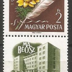 Ungaria 1960 Emisiune in beneficiul Asoc.Filatelistilor Maghiari(Mabeosz) - Timbre straine