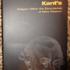 David Mills Daniel BRIEFLY: KANT S RELIGION WITHIN THE BOUNDARIES OF MERE REASON Scm Press 2007