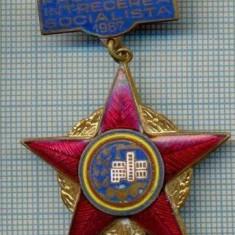 511 INSIGNA  - FRUNTAS IN INTRECEREA SOCIALISTA 1967 -starea care se vede
