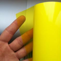 Folie stopuri / faruri / proiectoare - galben deschis  - ORACAL - 50 cm x 150 cm