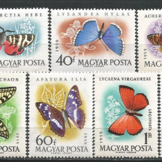 Ungaria 1959 Fluturi