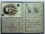 4 - CAILE FERATE ROMANE - CARNET DE IDENTITATE PENTRU ELEVI SI STUDENTI  - 1936, Documente