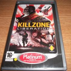 Joc Killzone Liberation, PSP, original si sigilat, alte sute de jocuri! - Jocuri PSP Sony, Shooting, 16+, Single player