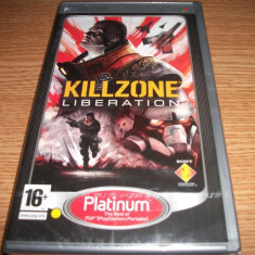 Joc Killzone Liberation, PSP, original si sigilat, alte sute de jocuri! - Jocuri PSP Sony, Shooting, 16+, Single player