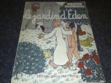 Jean Effel - Le Jardin d ' Eden - le roman D ' Adam et Eve - in franceza - 1956