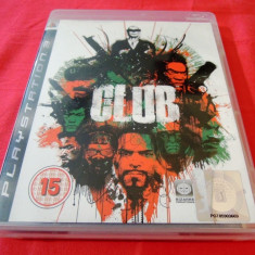 Joc The Club, PS3, original, alte sute de jocuri! - Jocuri PS3 Altele, Shooting, 16+, Single player