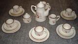 Set / serviciu - ceai / cafea - ceramica - 6 persoane - Complet !