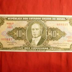 Bancnota 10 Cruzados Brazilia, cal.NC