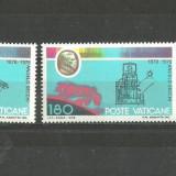 Vatican 1978 - TELESCOP SI LUNETE ASTRONOMIE, serie nestampilata B47