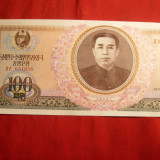 Bancnota 100 Woni 1978 Koreea de Nord, cal.aproapeNC