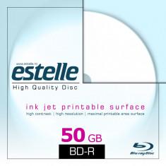 BD R 50GB dual layer inkjet printabil in carcasa slim - marca estelle Alta