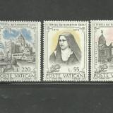 Vatican 1973 - ANIVERSARE SF.TEREZA, serie nestampilata D162
