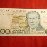 Bancnota 500 Cruzados Brazilia, cal.NC