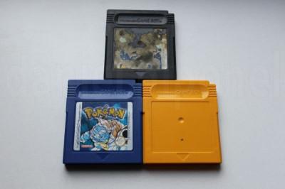 POKEMON Yellow, Blue, Trading Card Game - Nintendo Game Boy / GameBoy foto