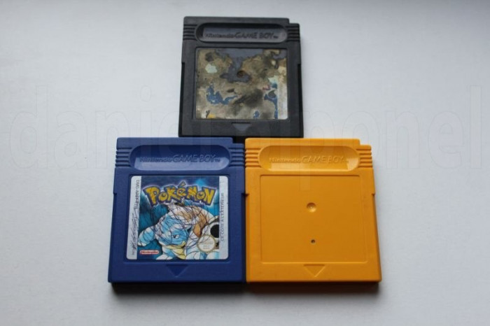 POKEMON Yellow, Blue, Trading Card Game - Nintendo Game Boy / GameBoy foto mare