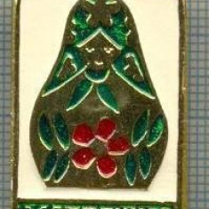 710 INSIGNA - MATRIOSKA - URSS -sciere chirilica -starea care se vede