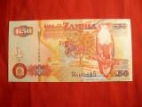 Bancnota 50 Kwacha 2003 Zambia , cal.NC