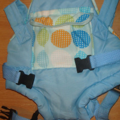 PORT BEBE BERTONI - Sling bebelusi Bertoni, 9 luni+, Albastru