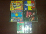 Cd si casete audio muzica dance, hip hop si reggae.