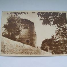 C.P. ORASUL STALIN- TURNUL ALB - Carte Postala Transilvania dupa 1918, Circulata