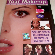 YOUR MAKE-UP (Pasi simplii pentru un machiaj perfect) DVD
