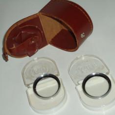 Cutie de pieleB&W cu lentile de macro B&W