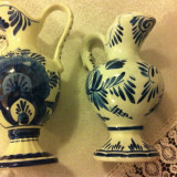 Carafe din ceramica Delfts pictate manual