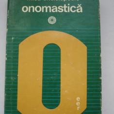 Mica enciclopedie - ONOMASTICA