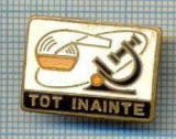 771 INSIGNA - TOT INAINTE - LOZINCA PIONIERI -starea care se vede