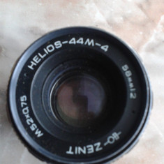 vand obiective foto ,pt colectie ,germania,DDR,anii 80,HELIOS ZENIT 44M-4,58mm, DDR