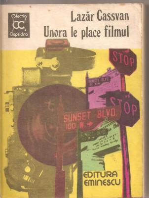 (C2792) UNORA LE PLACE FILMUL DE LAZAR CASSVAN, EDITURA EMINESCU, BUCURETI, 1981, COPERTA: VICTOR MASEK foto