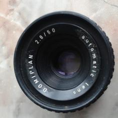 Vand obiective foto, pt colectie, germania, DDR, anii 80, DOMIPLAN automatic lens, 28/50