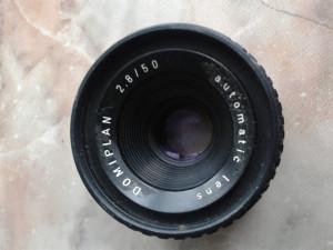 vand obiective foto ,pt colectie ,germania,DDR,anii 80,DOMIPLAN automatic lens,28/50