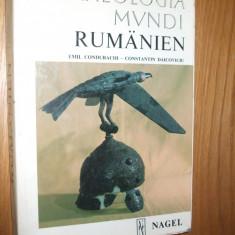 RUMANIEN*Archaeologia Mvndi - Emil Condurachi, C. Daicoviciu- Nagel 1972, 261p. - Istorie