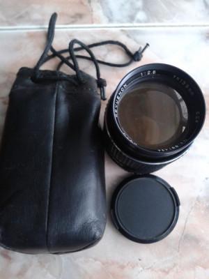 vand obiective foto ,pt colectie ,germania,DDR,anii 80,REVUENON AUTO TELEOBIECTIV 52/13.5mm foto