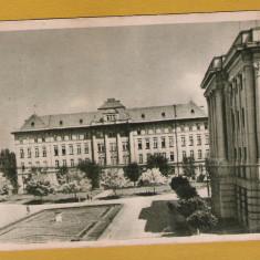 TIMISOARA INSTITUTUL FARMACEUTIC 1958 - Carte Postala Banat dupa 1918, Circulata