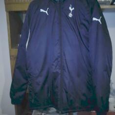 Geaca Puma Tottenham Hotspur de iarna S - Geaca barbati Puma, Marime: S, Culoare: Bleumarin, S, Bleumarin, Poliester