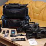 2 Camere Sony DSR - 250P, Mini DV, 2-3 inch