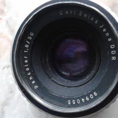 Vand obiective foto, pt colectie, germania, DDR, anii 80, PANCOLAR AUTO 1.8/50, CARL ZEISS JENA DDR