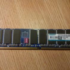 RAM KINGMAX DDR-400 1GB - Memorie RAM Kingmax, 400 mhz