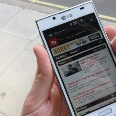 Lg optimus L7 Schimb cu iPhone 4 - Telefon mobil LG Optimus L7, Neblocat