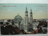 SIBIU - HERMANNSTADT - CATEDRALA - CENZURA 1919