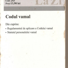 (C2749) CODUL VAMAL LA ZI, EDITURA C. H. BECK - Carti Industrie alimentara