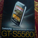 Samsung GT-S5560i - Telefon Samsung, Alb, Neblocat, Smartphone, Touchscreen, 5 MP