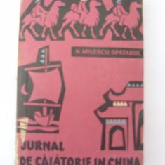 Jurnal de calatorie in China
