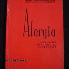 N. GAVRILESCU - ALERGIA * FIZIOPATOLOGIE, DIAGNOSTIC, TRATAMENT - Carte Diagnostic si tratament